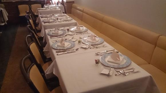 9人のお食事会